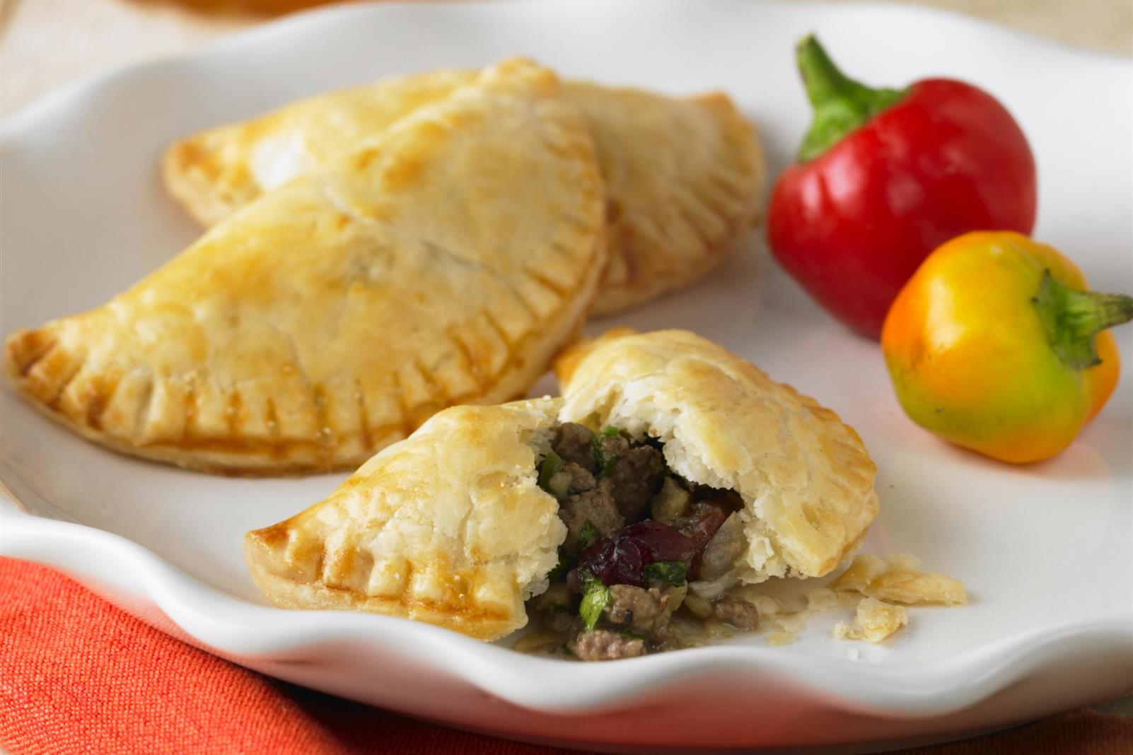 Beef Empanadas with Cranberries